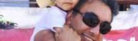 تیپ همسر و دختر شادمهر عقیلی! + عکس