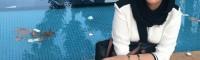 انتشار عکس بی حجابی از چکامه چمن ماه