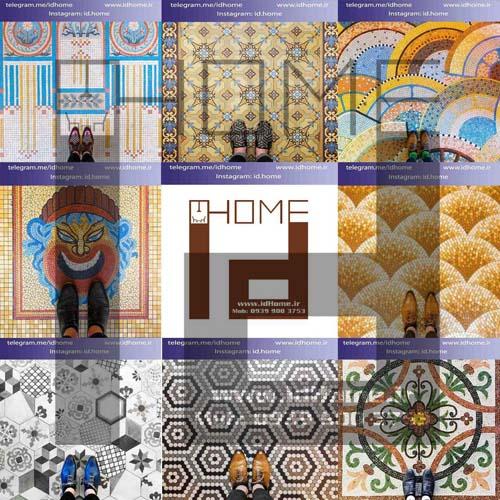 انتخاب رنگ کف در طراحی داخلی اصفهان
